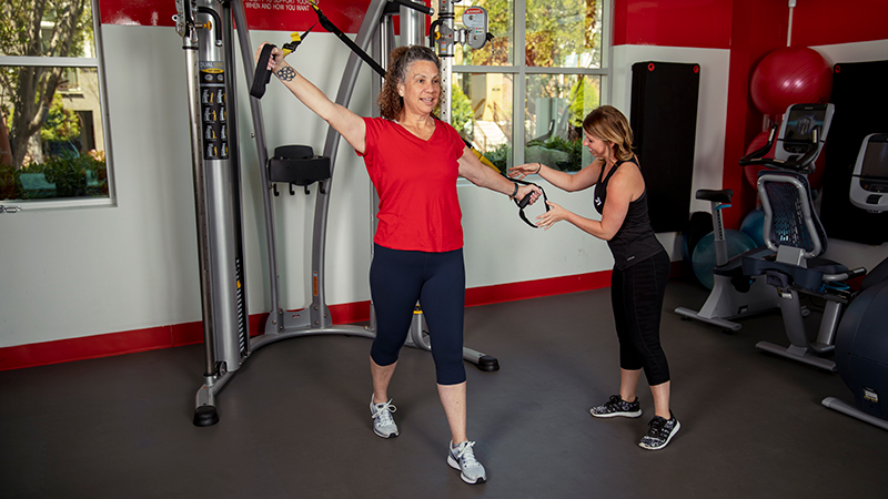ACE Fitness   TRX Forward Step with Alternating Arms 2