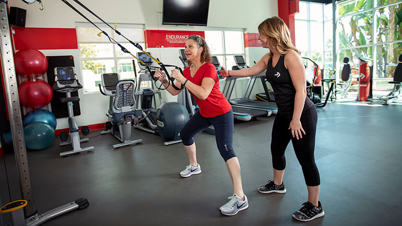 ACE Fitness   TRX Step Side Lunge