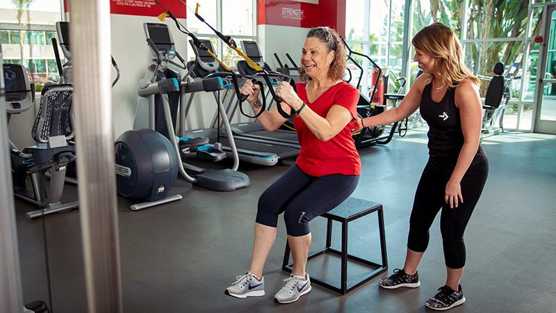 ACE Fitness   TRX Single with Leg Kickstand - Right