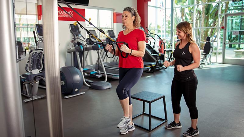 ACE Fitness   TRX Single with Leg Kickstand - Left