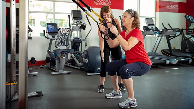ACE Fitness   TRX Squat 2