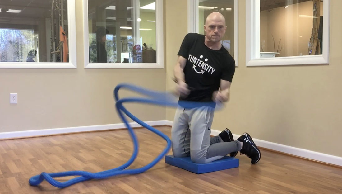 Hyper Rope: An ACE Integrated Fitness Training Model Workout