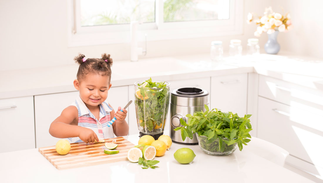 Study: Healthy Diet = Happy Child?