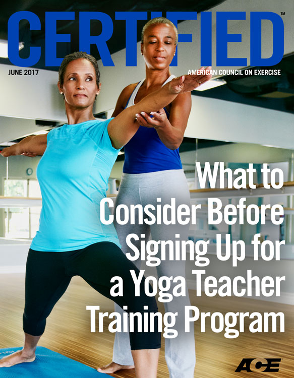 Ace Certified June 2017 What To Consider Before Signing Up For A Yoga Teacher Training Program