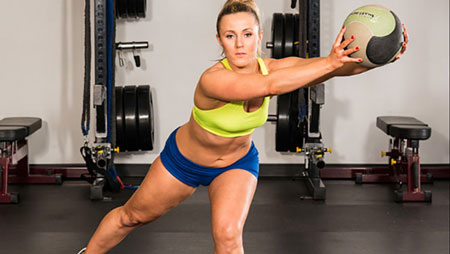 A Medicine Ball Workout for Your Clients