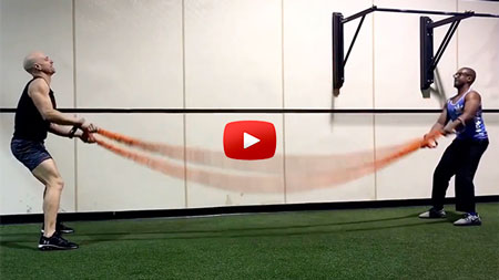Beast Battle Ropes: An ACE Integrated Fitness Training® Model-based Workout