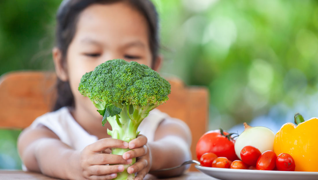 Study: When it Comes to Kids and Vegetables, Variety is Key