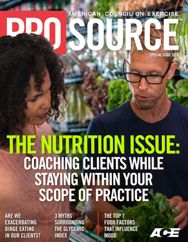 ProSource™: Special Nutrition Issue 2016