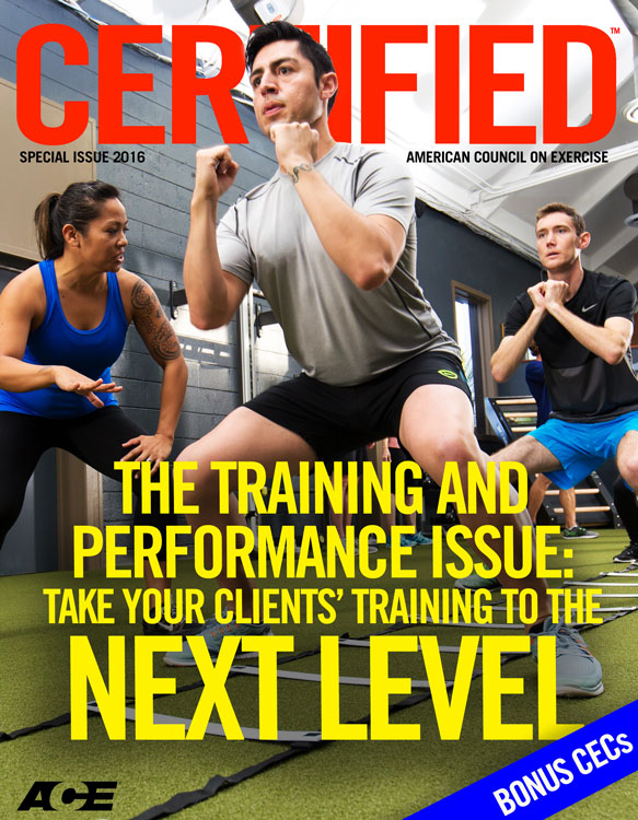 Certified™: Training and Performance Special Issue 2016