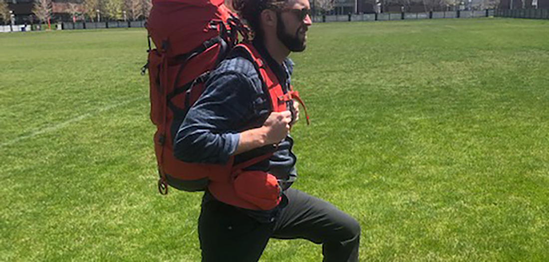 Outdoor Workout: Backpack Circuit