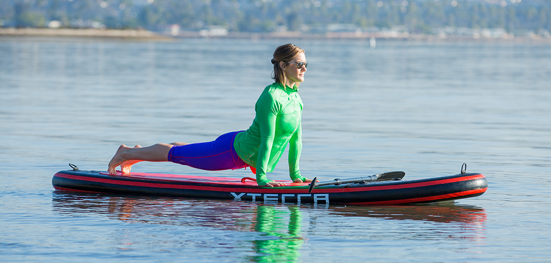 The Health Benefits of Stand-up Paddleboarding