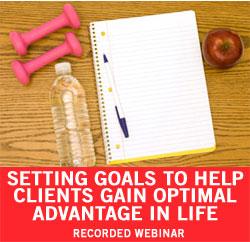 Goal Setting Webinar
