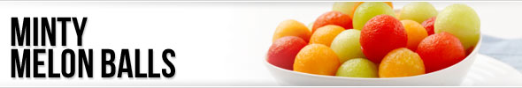 Minty Melon Balls