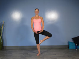 ballet find knee pose