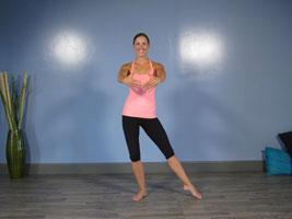 ballet points pose
