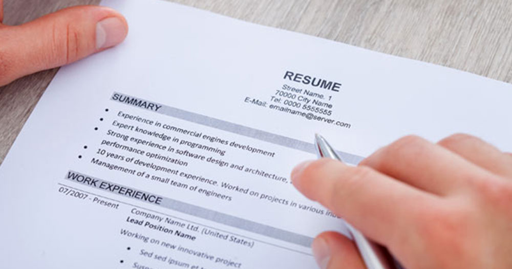 Resume Tips An Effective Resume Checklists Visual Ly. 5 Resume