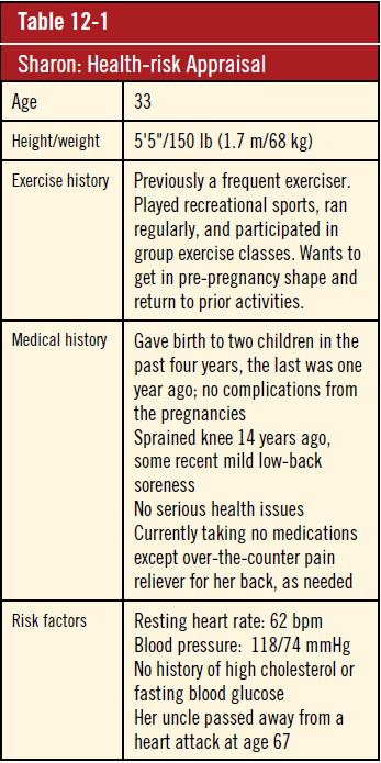 Health-risk appraisal