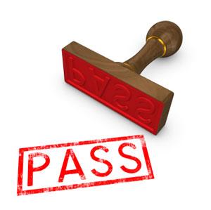 Pass exam