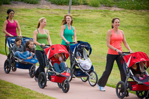 Get Fit With Your Stroller