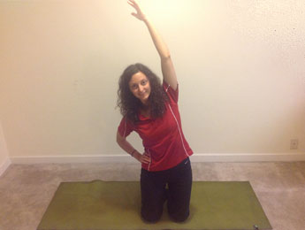 Kneeling Side Stretch