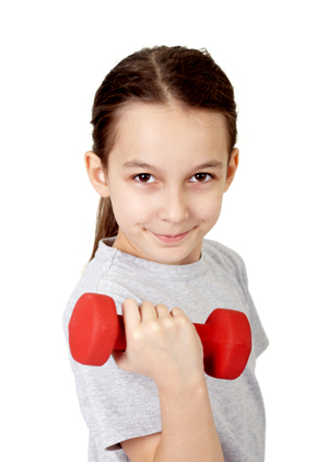 Resistance training for kids