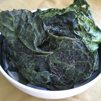 Bake Kale Chips