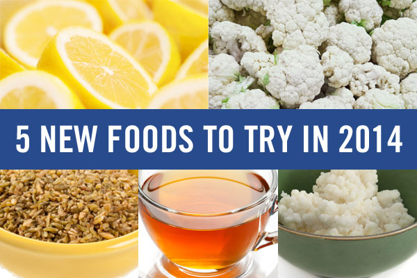 5 New Foods to Try in 2014