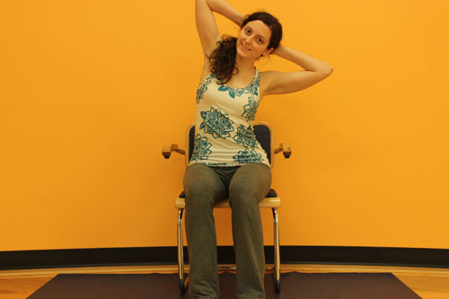 Seated Lateral Flexion