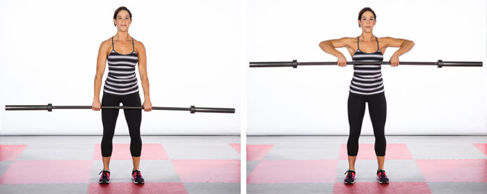 upright high pull