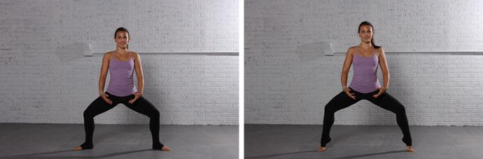 Plie squat jump