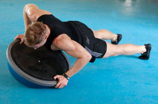 4 Fun Moves to Do With a BOSU®
