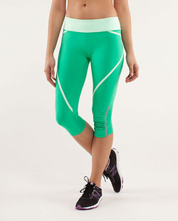Lululemon Run Pace Crop