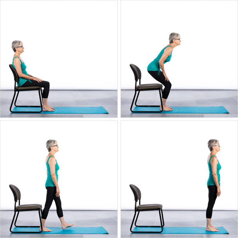 Chair Yoga Poses 7 Poses For Better Balance