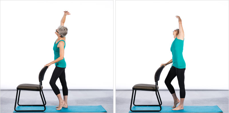 7 Chair Yoga Poses for Better Balance