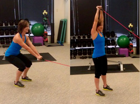 Total-body Strengthening With Resistance Tubing
