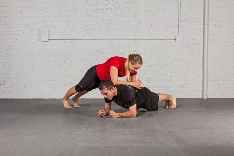 partner plank