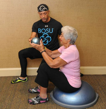 Seated Visual and Vestibular Tracking