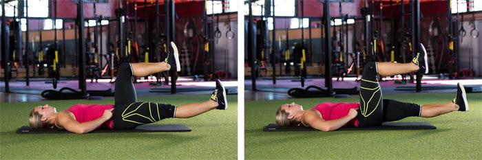 90-degree leg slides
