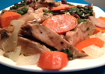 Rosemary Turkey with Vegetables