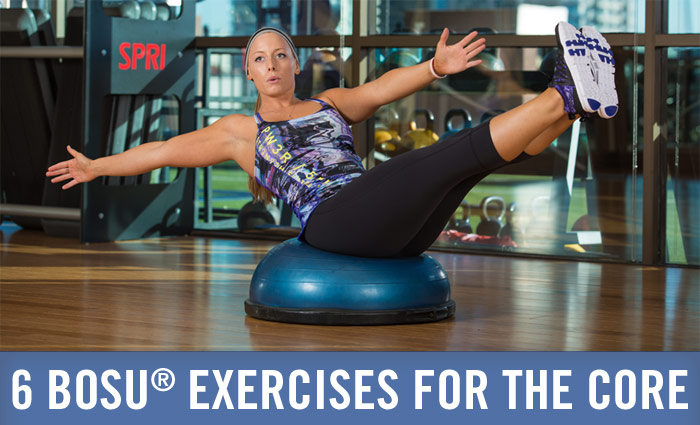 BOSU Core exercises