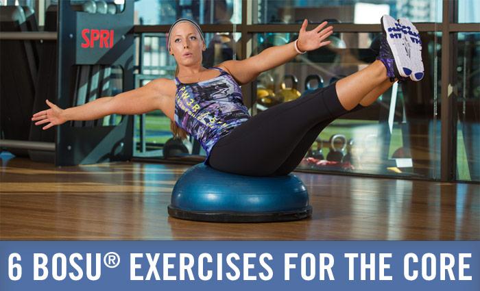 BOSU Core exercises