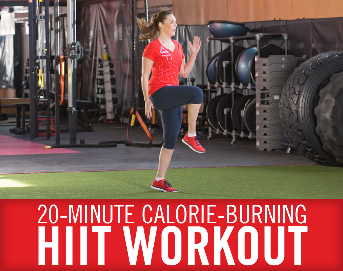 Calorie-Burning 20-Minute HIIT Workout