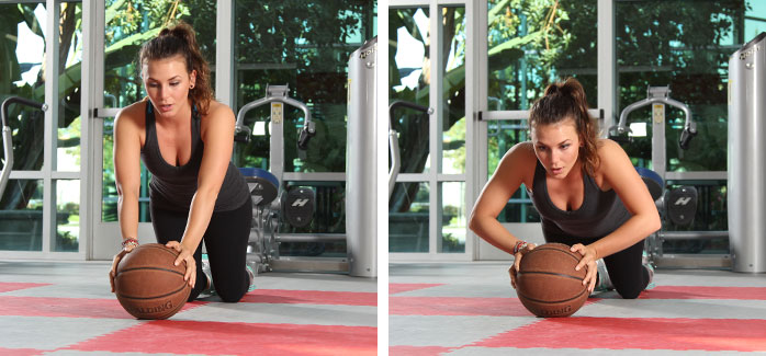 Basketball Push-ups