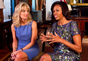michelle obama joining forces