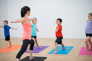 Yoga: White-House Approved, but Not Quite Parent Approved