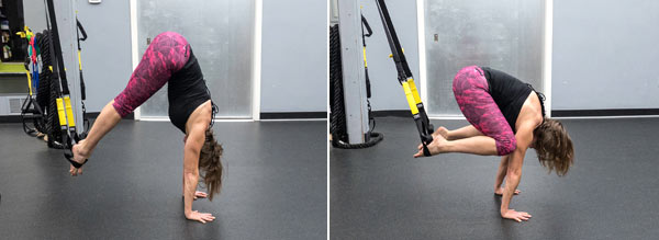 Core Combos Using The Trx Suspension Trainer And Ultimate