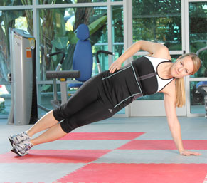 Side Plank with Full Extension