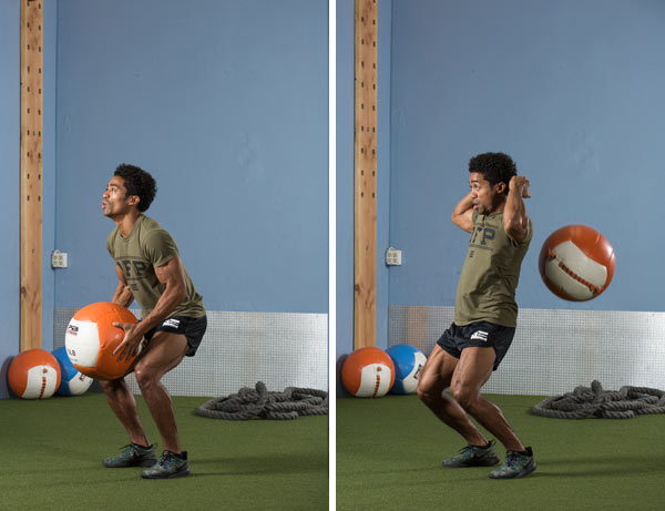 Reverse Medicine Ball Slams