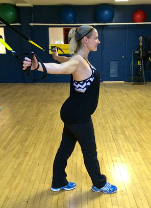 TRX Chest Stretch