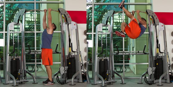 Mixed Grip Pull-up